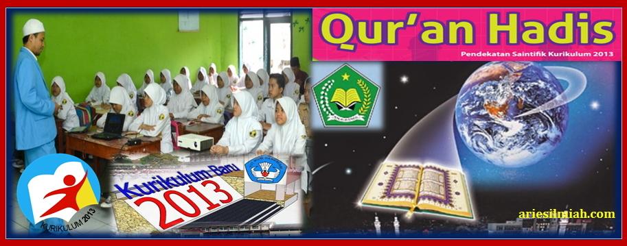 Perangkat Pembelajaran Al Qur An Hadits Mts Kurikulum 2013 Download File Pendidikan