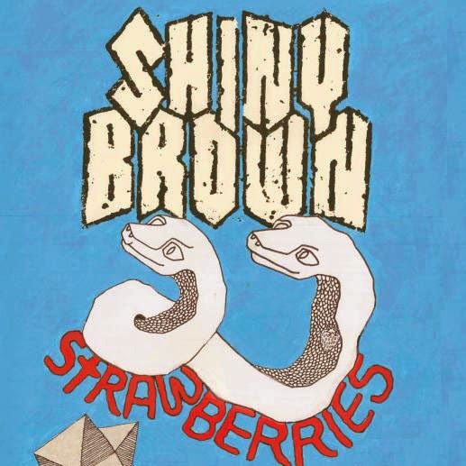 Meta Matter Records: SHINY BROWN - strawberries - 7
