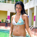 Telugu Actress Rithika Hot & Spicy Bikini Photos