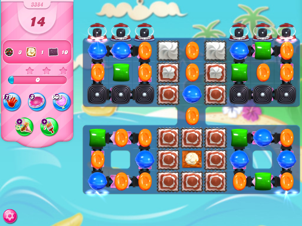 Candy Crush Saga level 3384