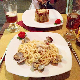 Pigneto, Infernotto, pasta,Roma, Vlog, Roadtrip, voyage, Romain, Italie, vacance, blog, food,