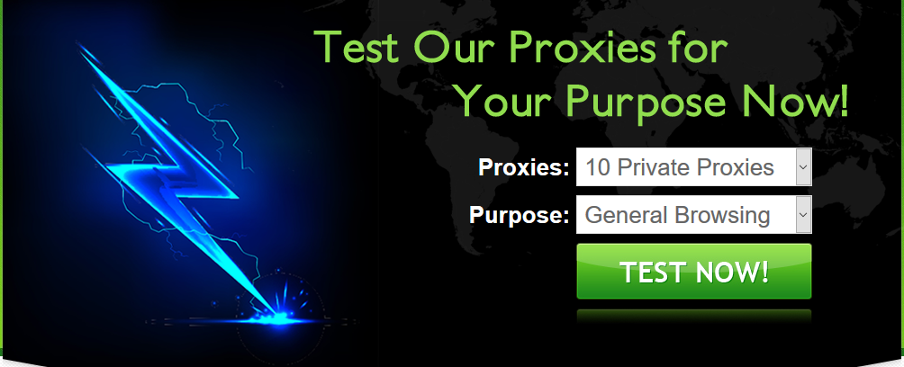 Protect your identity - Surf the web at Ease with the best Private Proxies at the Cheapest price !