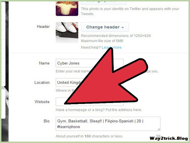 How to Link Your Website to Your Twitter