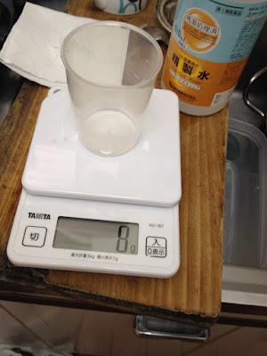 精製水計量