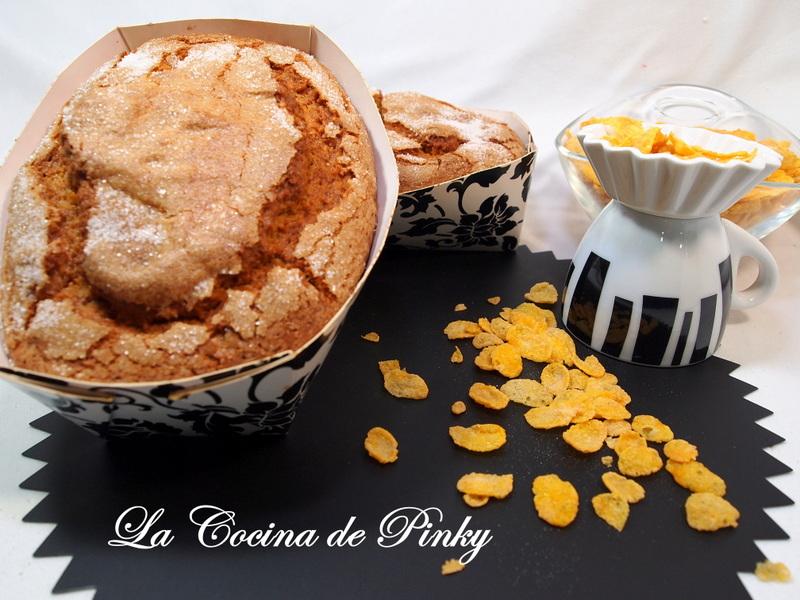 Bizcocho Con Corn Flakes