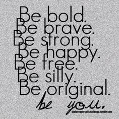#MondayMotivation - Be You, Do You!