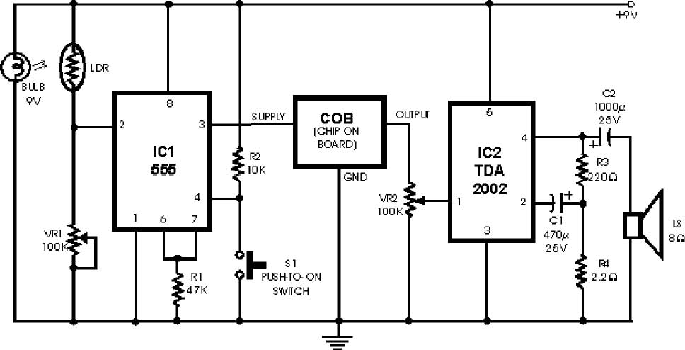 super fire alarm circuit diagram
