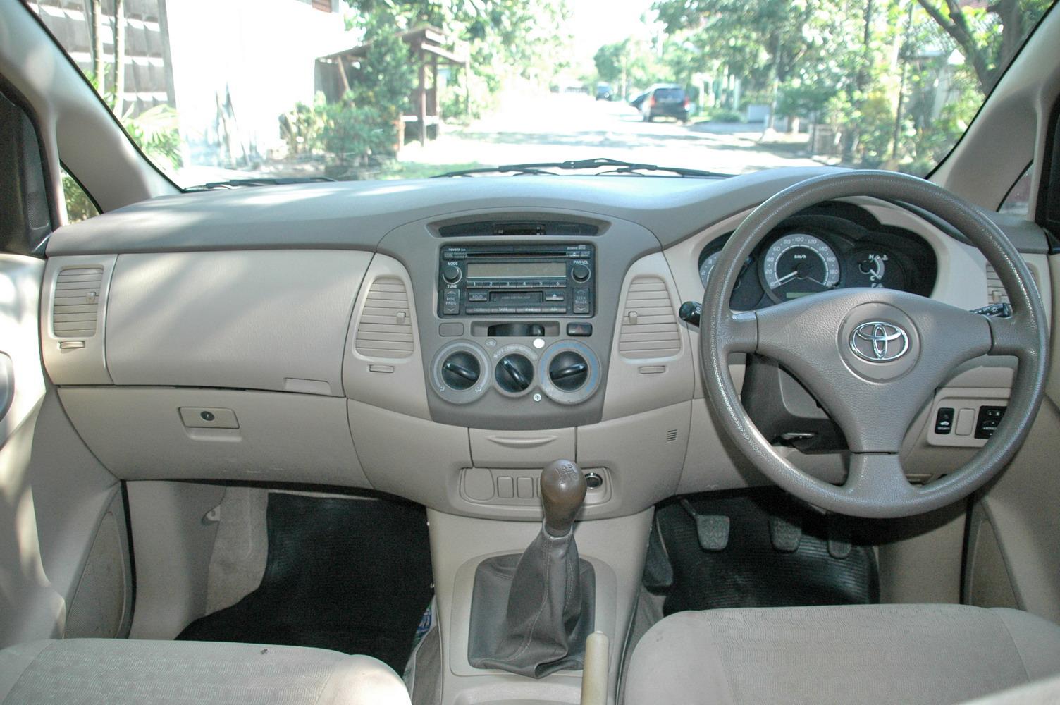 konsumsi bbm all new kijang innova diesel interior venturer automoda toyota g 2008