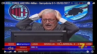 Milan Sampdoria 1-0 commento Tiziano Crudeli Direttastadio video