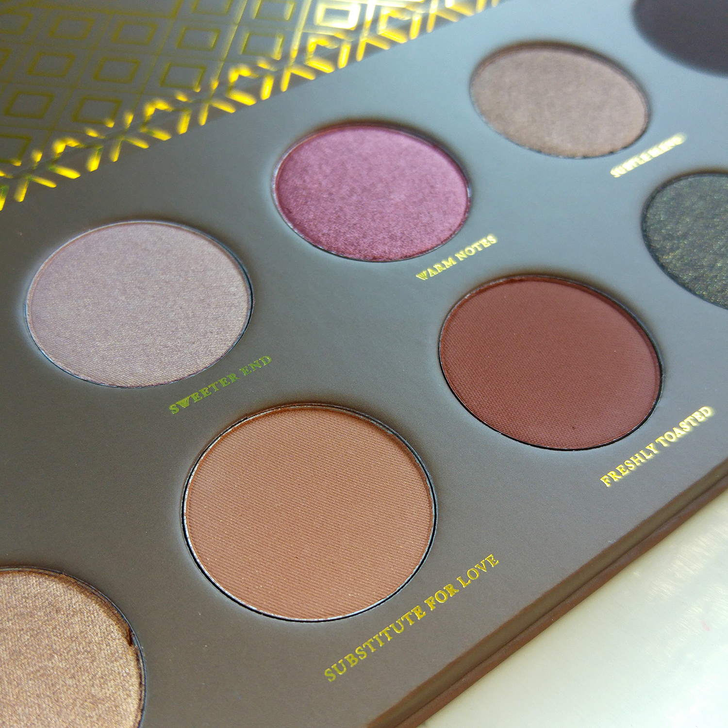 Cocoa Blend by Zoeva - review and swatches