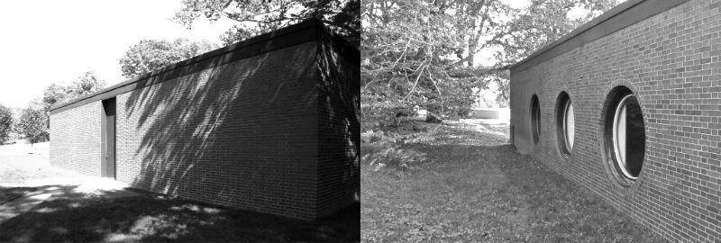 Brick House. New Cannaan. NY