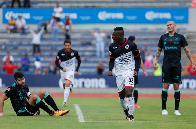 Lobos BUAP igualó 2-2 ante Santos