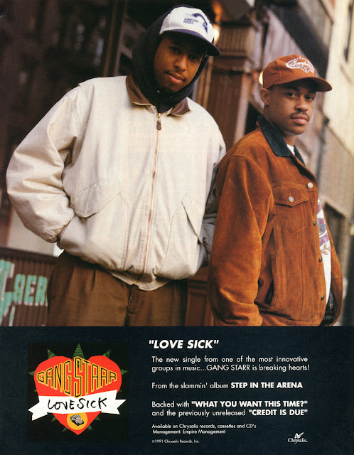 Gang Starr Love Sick Step in The Arena Guru DJ Premier Hip-Hop Nostalgia