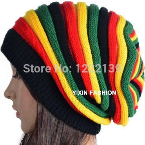 czapeczka na drutach