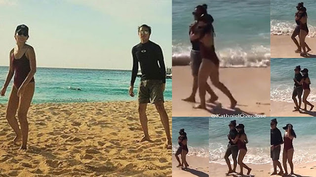 Kathryn Bernardo and Daniel Padilla were caught in the act of doing THIS in Boracay!