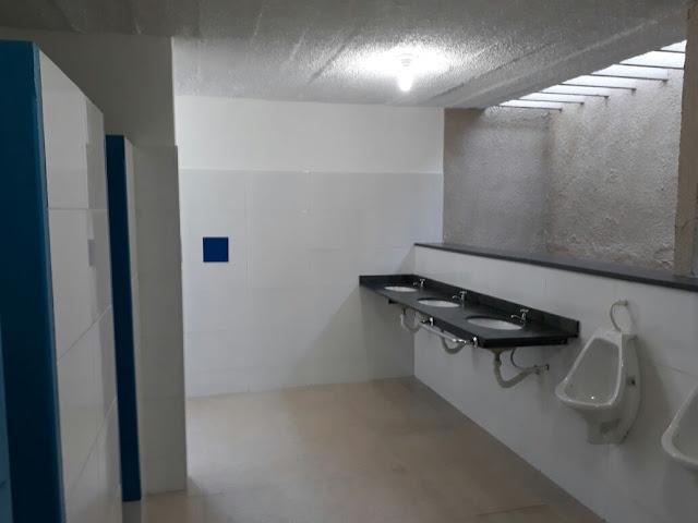 Banheiro Público é reinaugurado em Cajobi