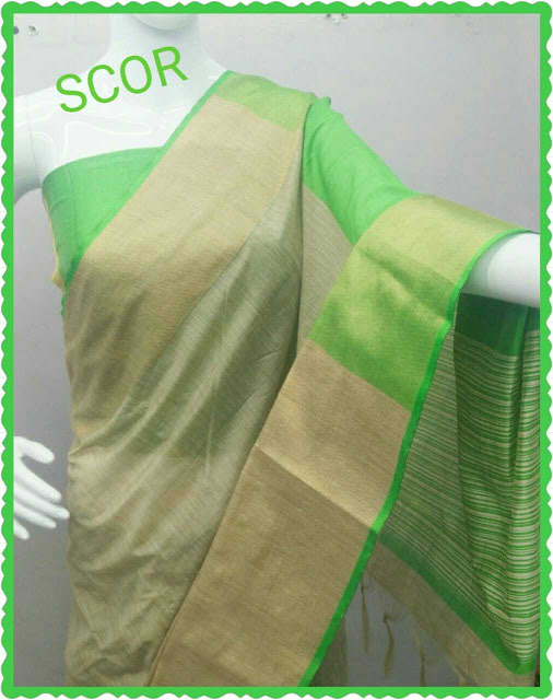 Cotton Saree With Blouse Piece