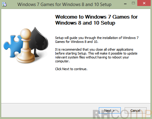Cara Memainkan Game Windows 7 di Windows 8 dan 10