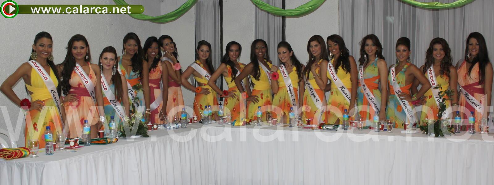 Las 16 candidatas