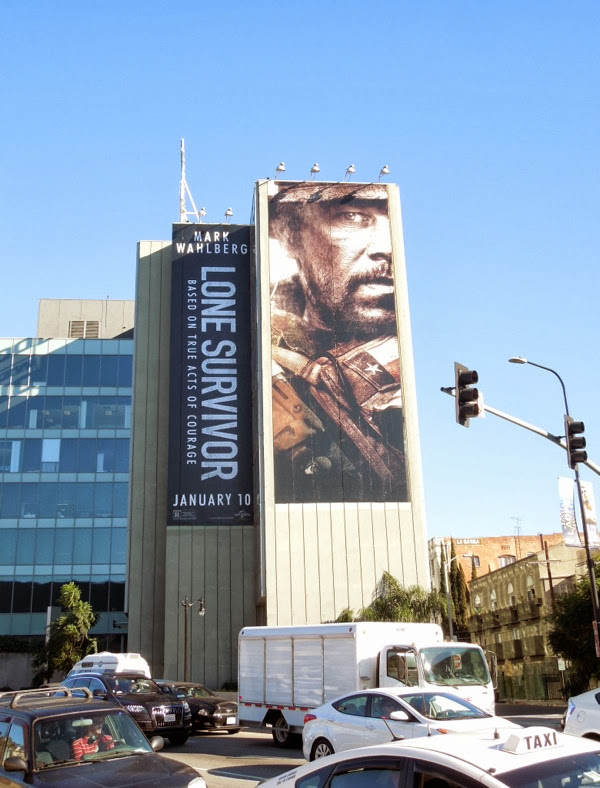 Giant Lone Survivor film billboard