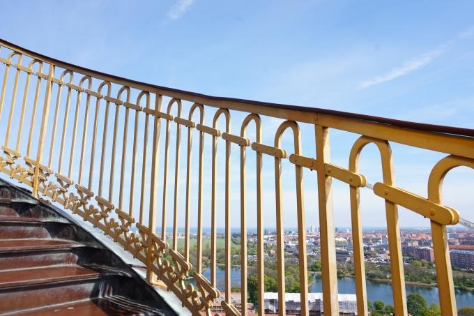 Kööpenhaminan parhaat näköalapaikat - Christianshavn Church of our saviours näköalatorni
