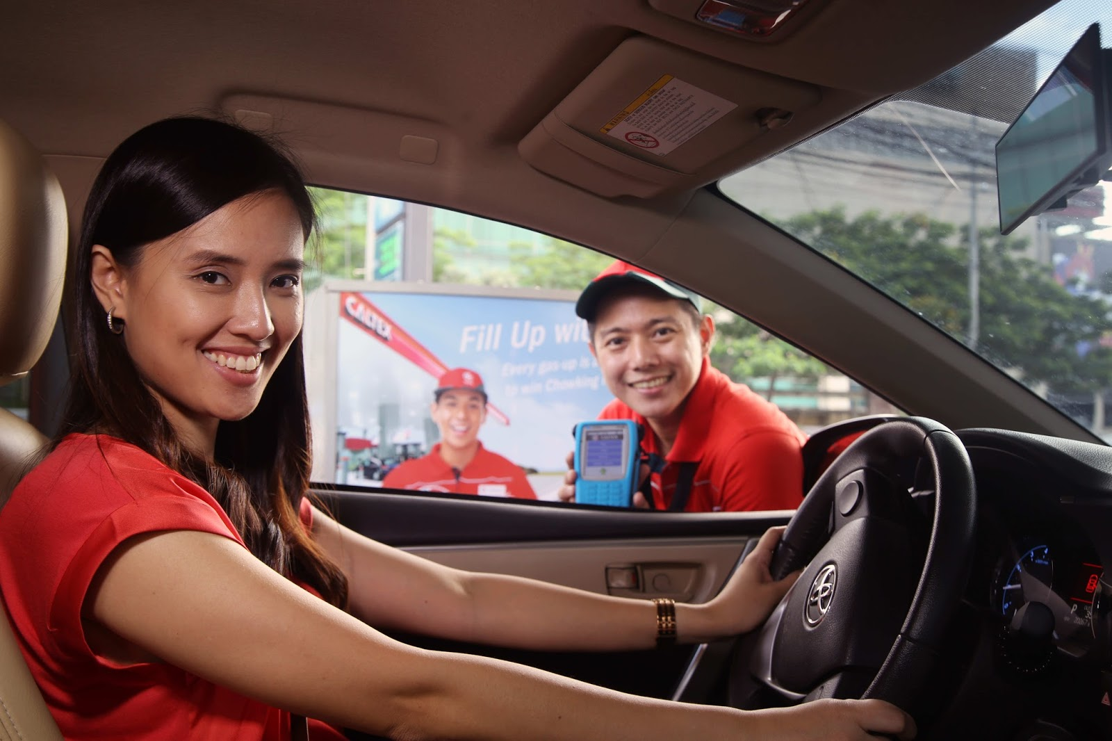 Caltex Fill Up with Chow Promo