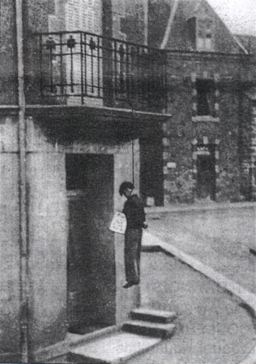 Тюль 1944 год.