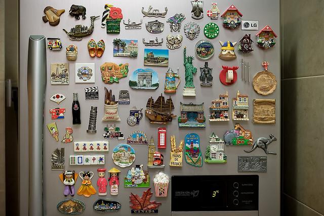 Ideias para expor coleções
