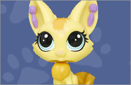 LPS Fennec Fox Figures