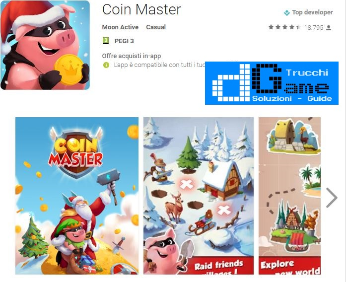 Trucchi Coin Master Mod Apk Android v2.3