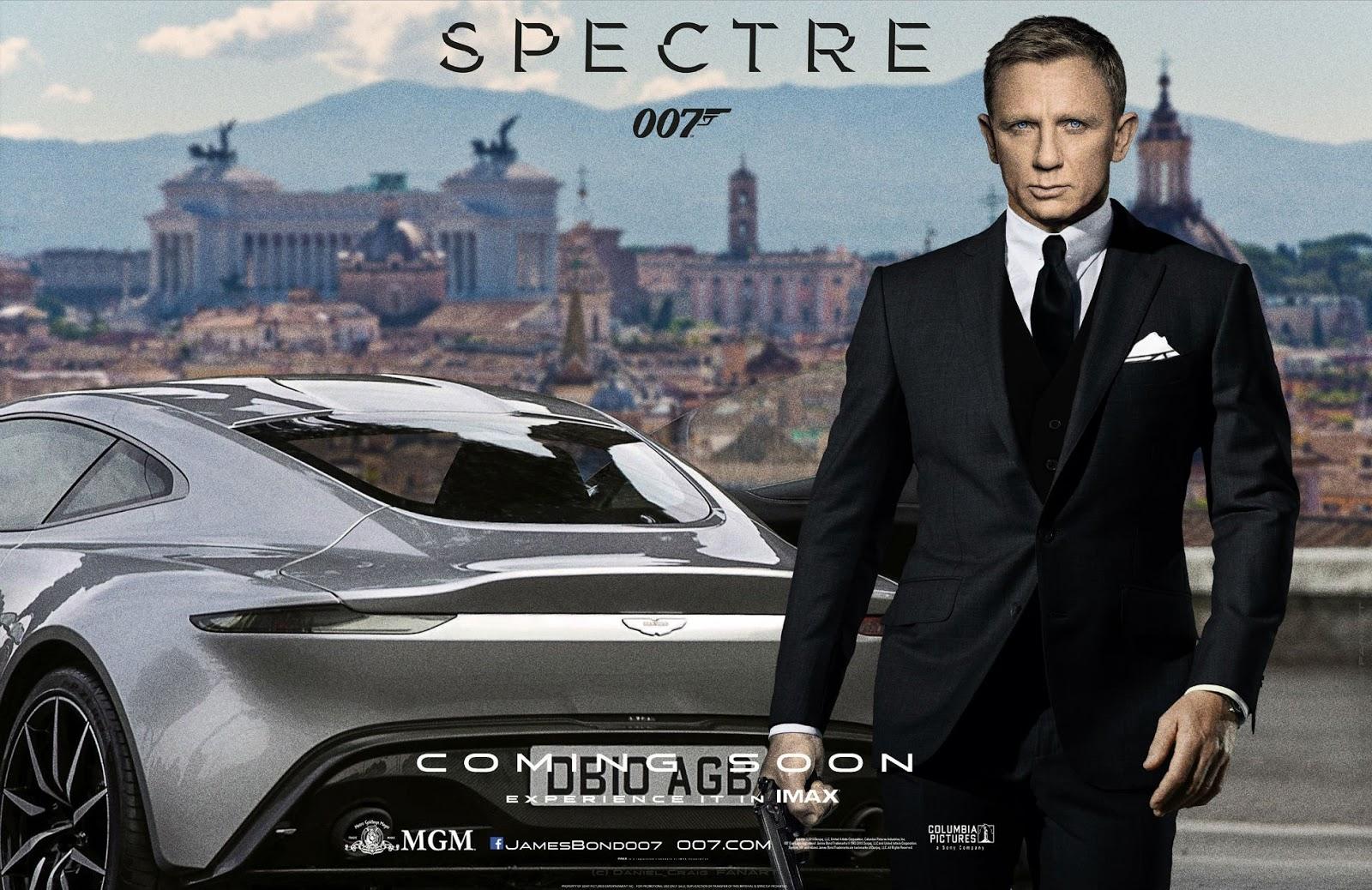 Aston martin DM10 with Daniel Craig 007 Spectra HD ...