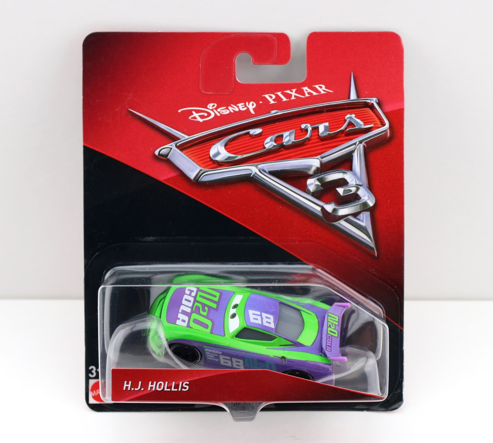 Cars 3 H.J. Hollis (N20 Cola) diecast