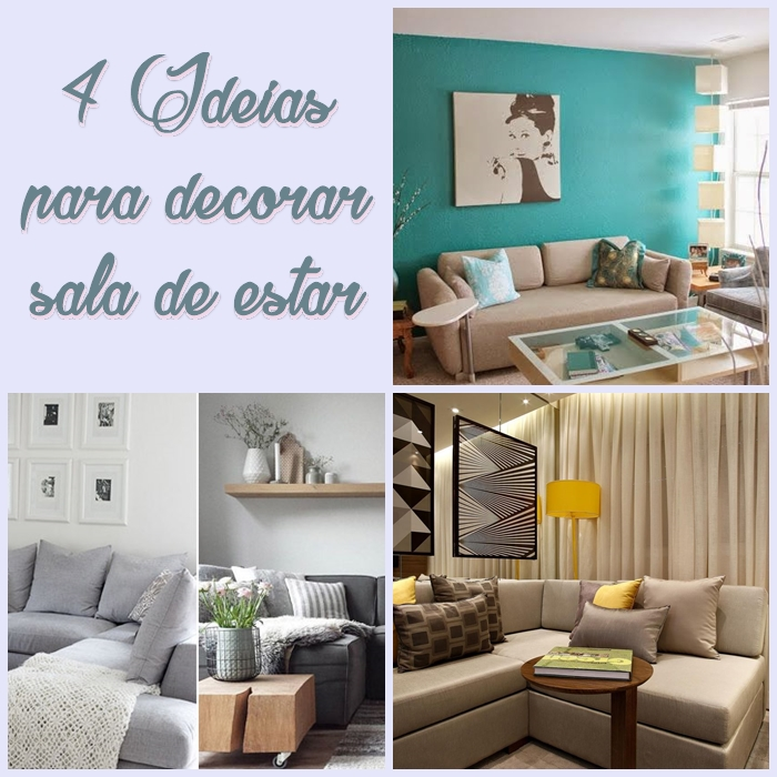Decorao para sala de estar Reciclar e Decorar  Blog de