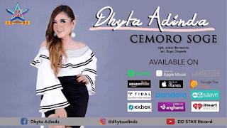Lirik Lagu Cemoro Soge - Dhyta Adinda