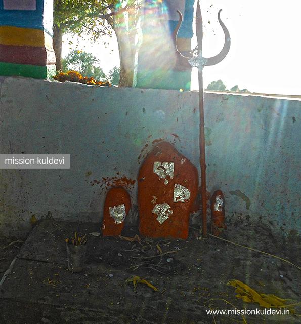 Bhairav in Khalkali/ Khalkay / Khalkai Mata temple Lahri ka Bas Dausa