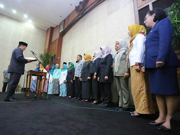 Pelantikan 21 Pejabat Baru di Lingkungan Pemkot Bandung