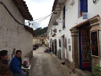 Barrio San Blas. Cuzco. Perú