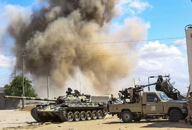 More Than 120 Killed, Nearly 600 Wounded In Libya Fighting .