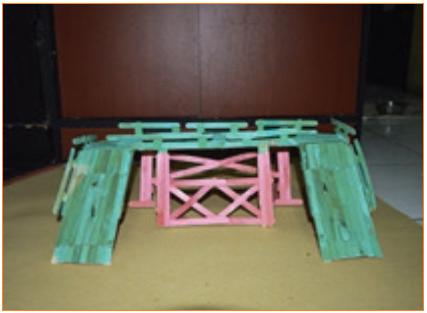 Langkah-Langkah Kerja Pembuatan Miniatur Jembatan 4