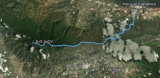 Ruta San Juan Evangelista - Sierra del Madroño - Cerro Viejo