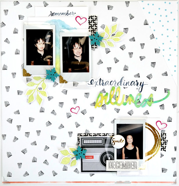 Extraordinary Silliness Layout by Dana Tatar for Scrapbook Adhesives by 3L