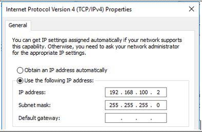 Setting IP Address di Windows