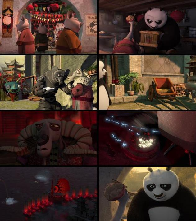 Kung Fu Panda 2 2011 Dual Audio Hindi 720p BluRay 1.1GB