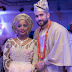 Toke Makinwa's Sister's Husband Do The 'Dobale' At Their Traditional Wedding (Photos)