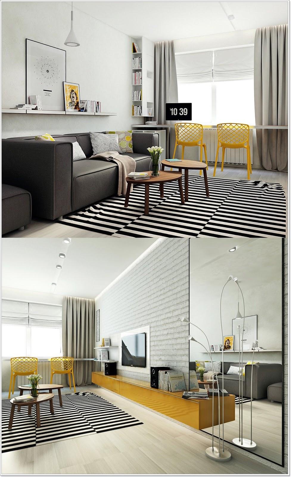 Skandinaviske stue Design: Ideer & Inspirasjon - interiør inspirasjon