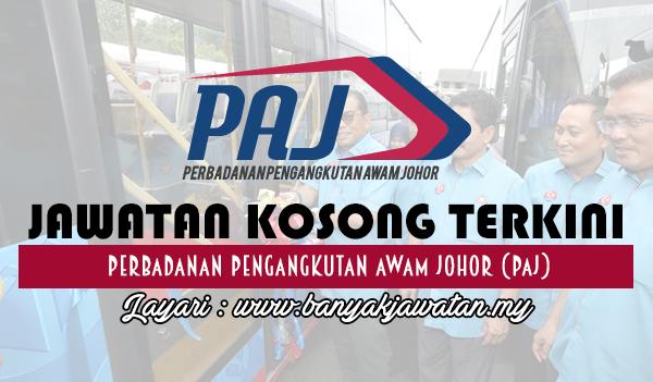 Jawatan Kosong 2017 di Perbadanan Pengangkutan Awam Johor (PAJ)