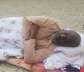 Senator Melaye continues to sleep outside the DSS medical facility
