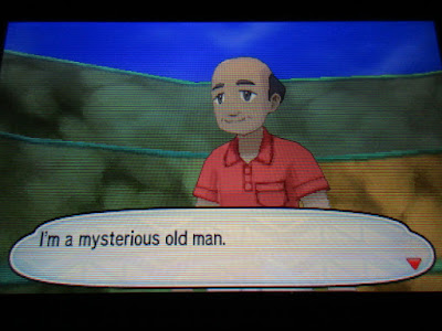 Pokémon Sun Moon Special Demo Version mysterious old man Stardust