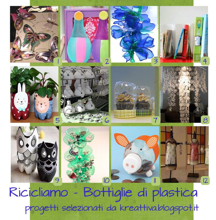 ricicliamo le bottiglie di plastica