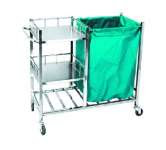 trolley linen stainless